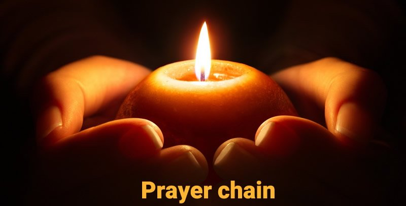 Prayer chain for protection from Covid-19